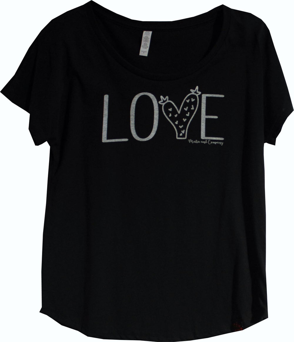 Image of Love Cactus Collection - Black