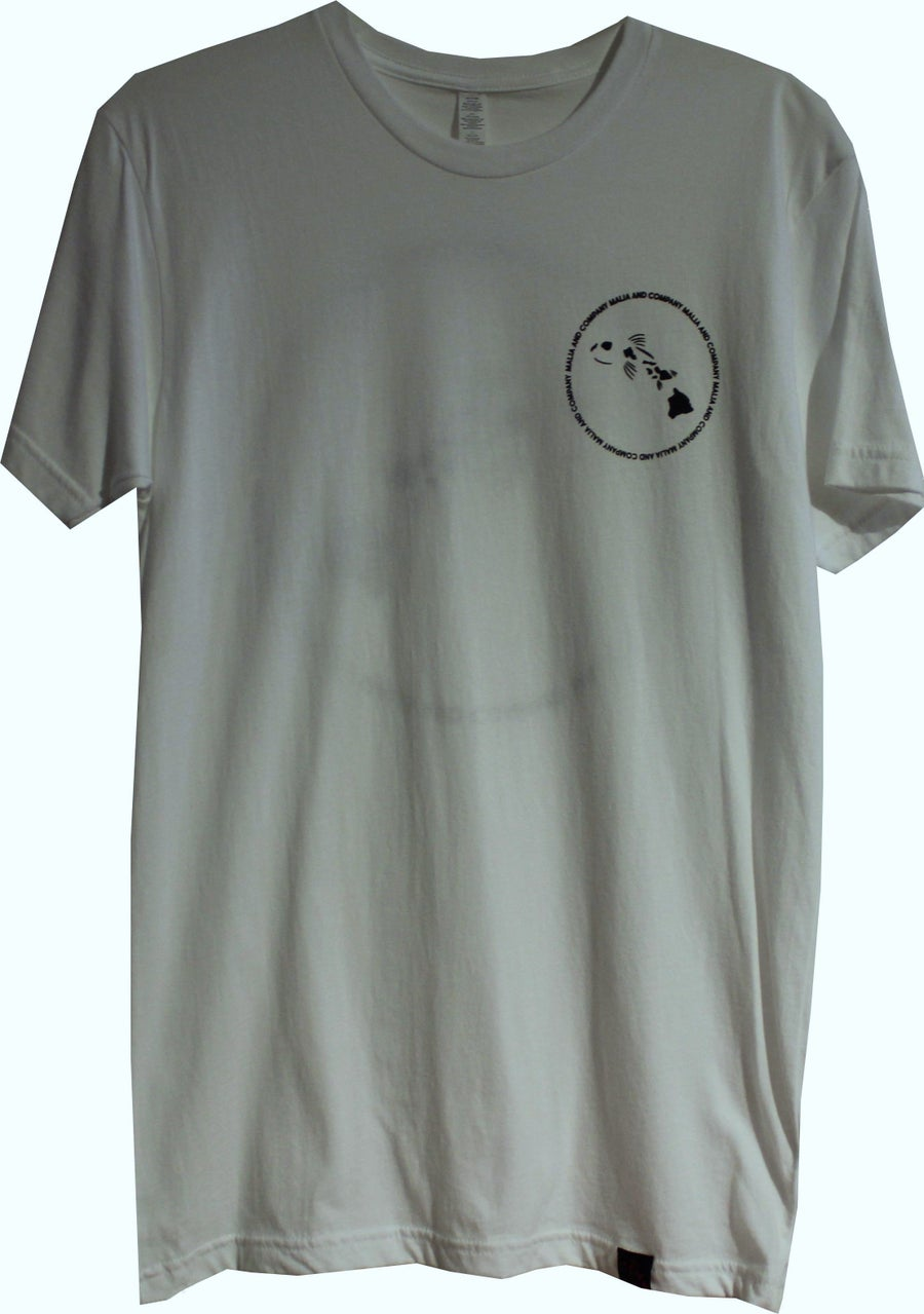 Image of Men's Logo Ciricle Collection - White