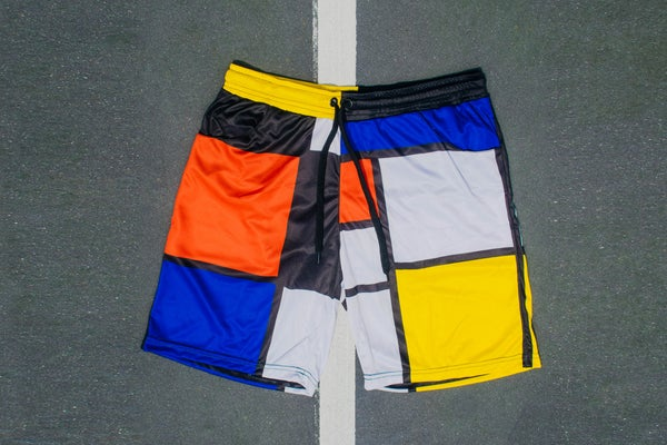 Image of Patchwork Swim Shorts