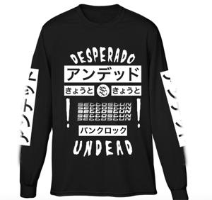 Image of Desperado Undead (Kanji) Longsleeve Tee