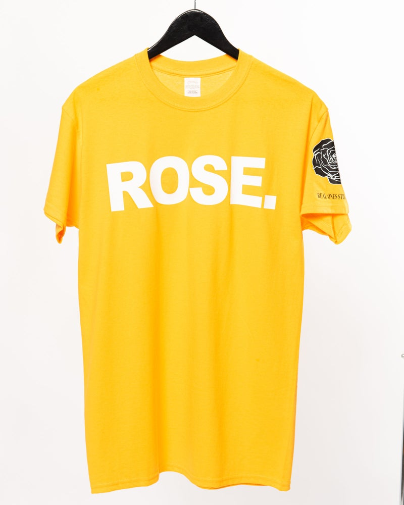 Image of ROSE Logo T Vintage Gold