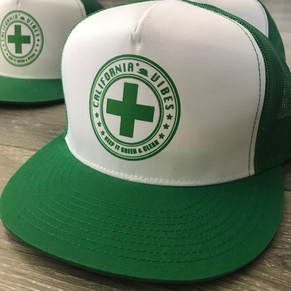 Image of KEEP IT GREEN & CLEAN SNAPBACK TRUCKER HAT