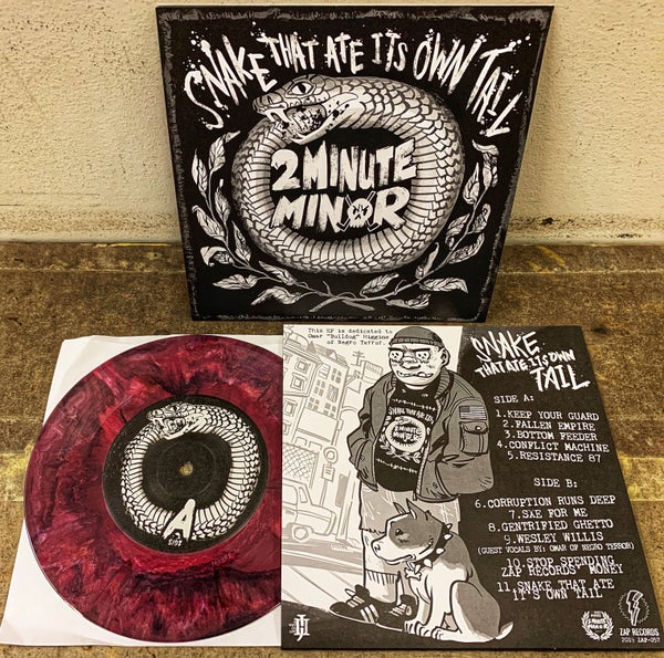 """Image of Snake That Ate Its Own Tail - 7"""" Vinyl"""