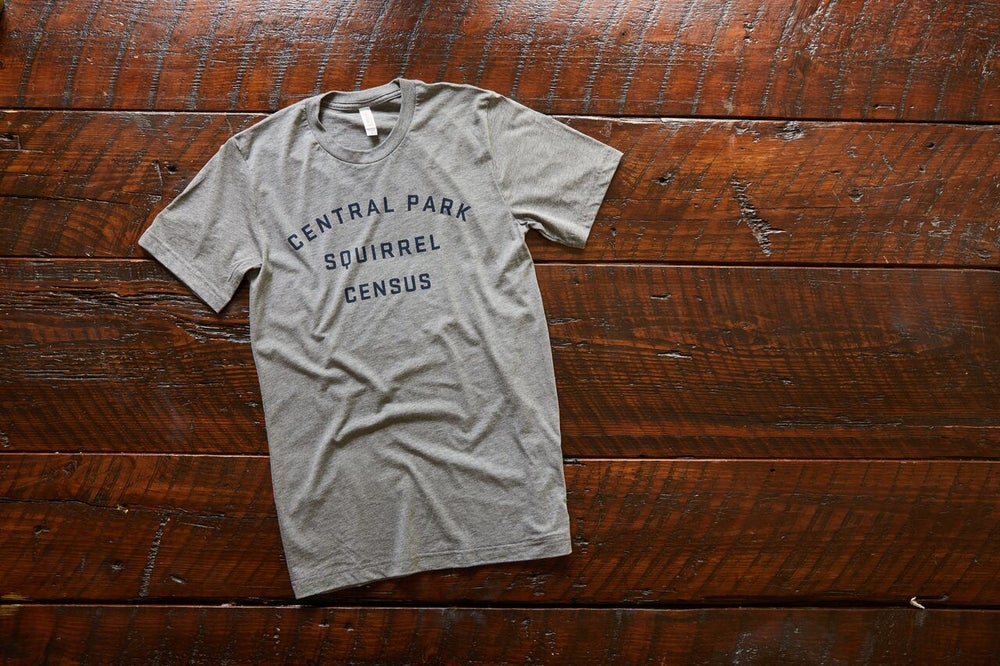 Image of Official Central Park Squirrel Census T-shirt