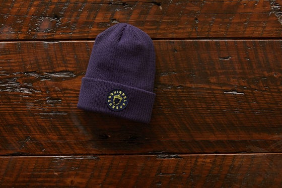 Image of Official Central Park Squirrel Census Beanie