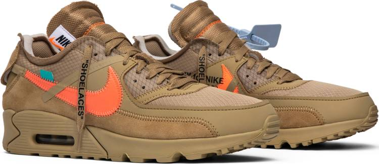 OFF-WHITE x Air Max 90 'Desert Ore'