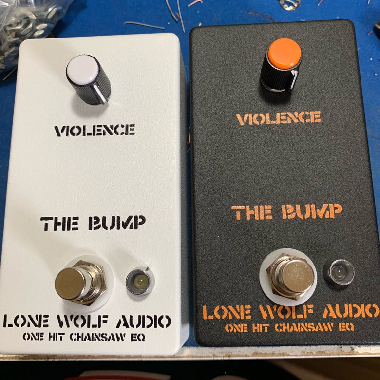 Image of The Bump - One knob Chainsaw EQ Pre-sale