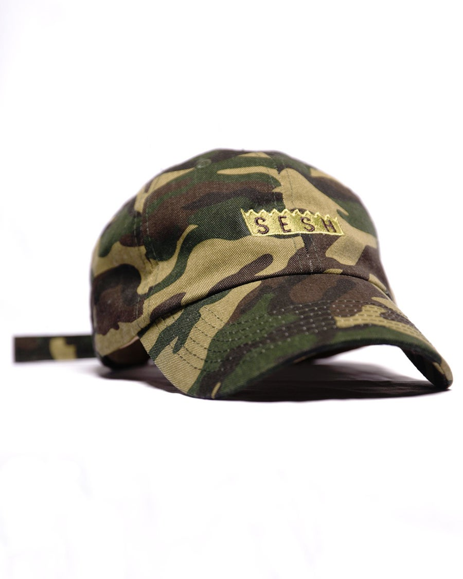 Image of Sesh Embroidered Camo Hat