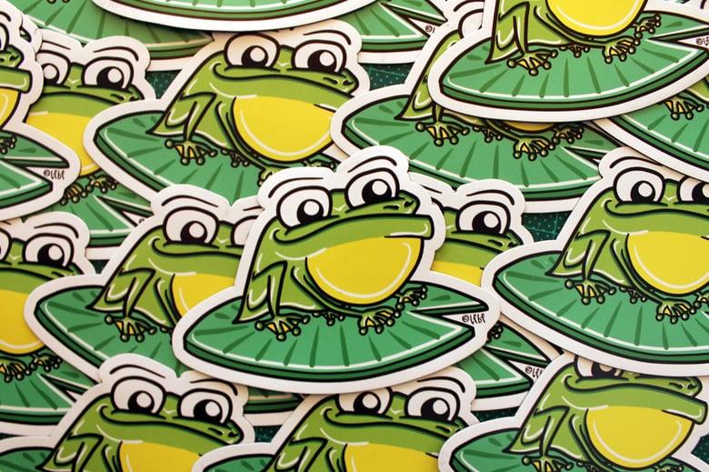 Image of Frog Magnet