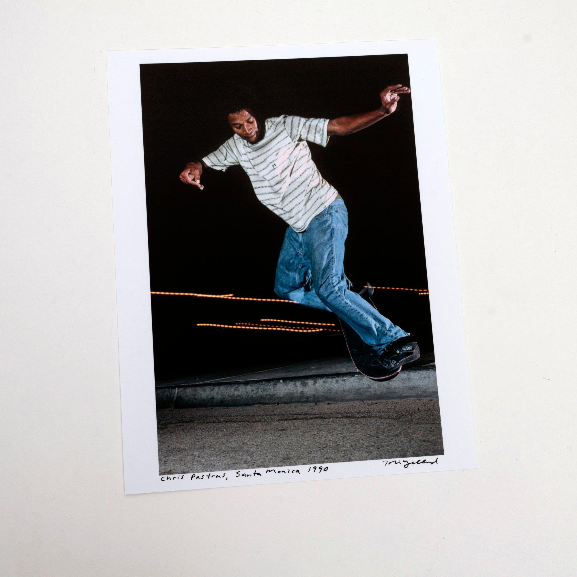 Image of Chris Pastras, Santa Monica 1991, by Tobin Yelland