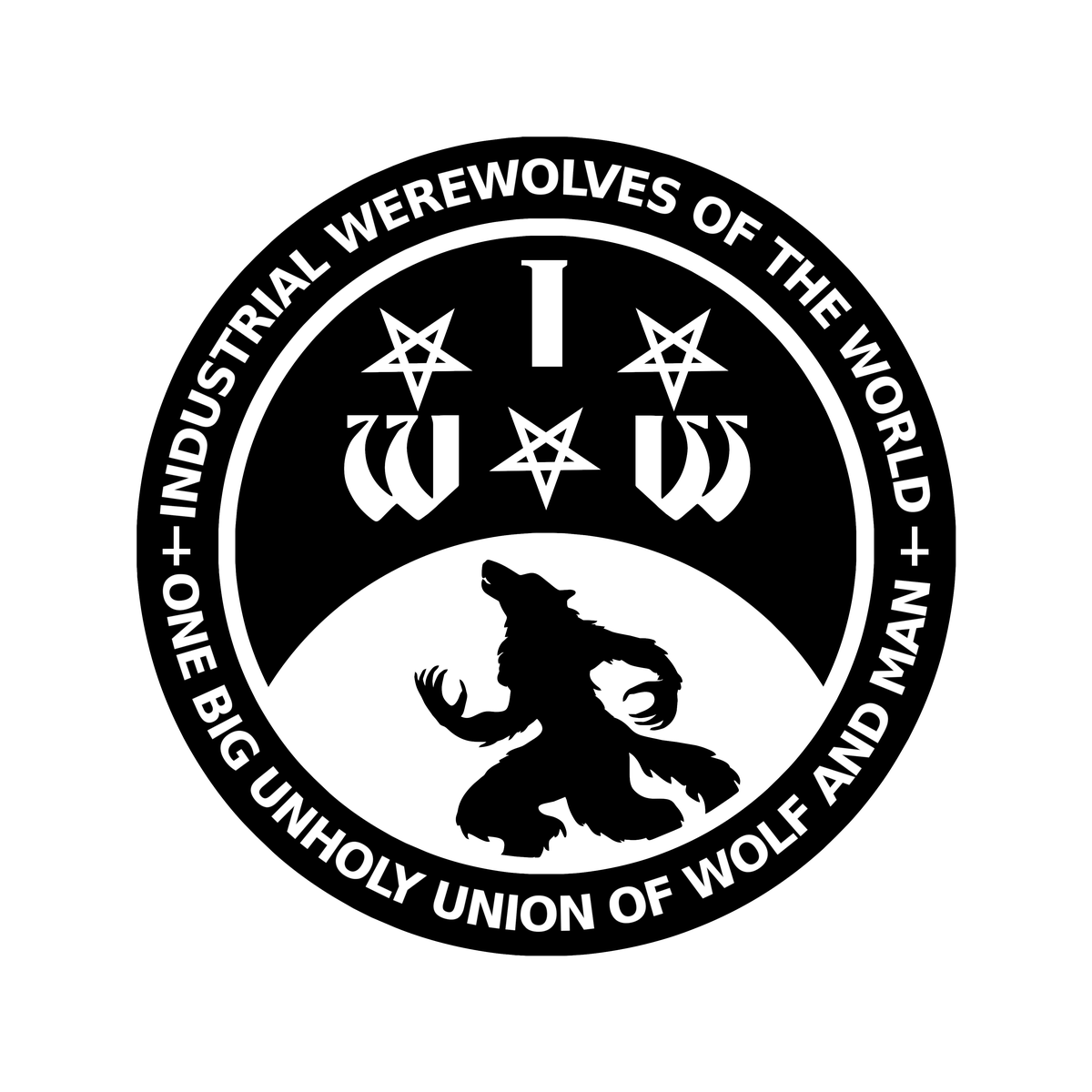 Image of Industrial Werewolves of the World - Vinyl Sticker