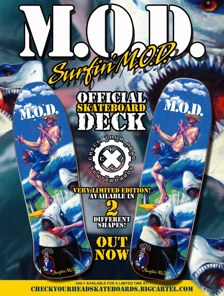Image of M.O.D surfin' MOD Skateboard Deck