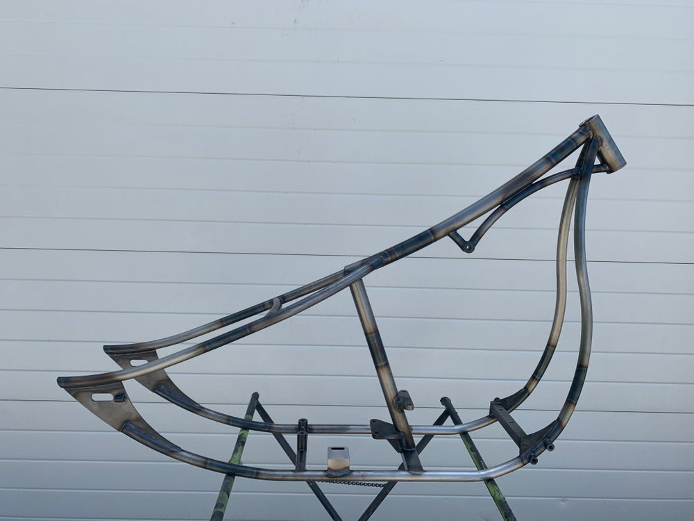 Image of Custom Chopper frame