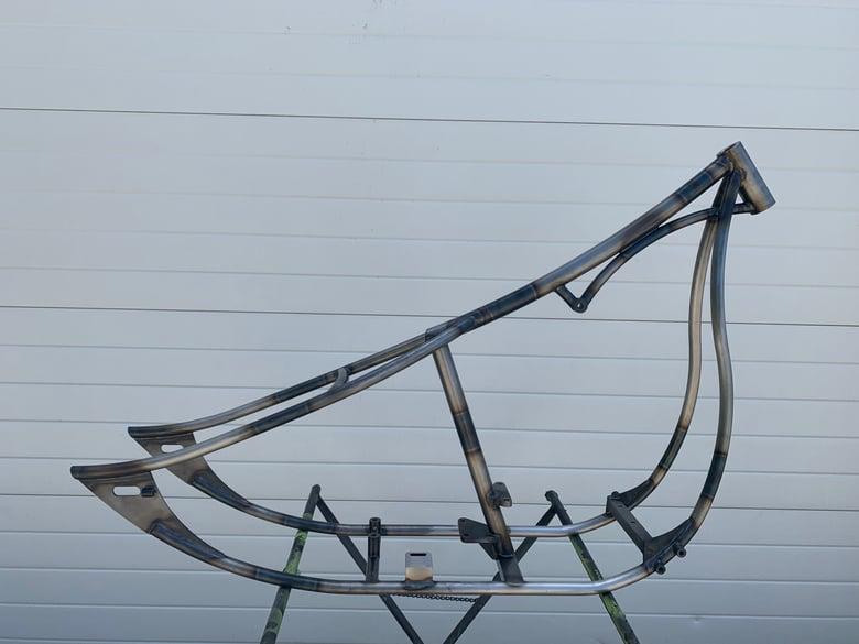 Image of Custom Chopper frame