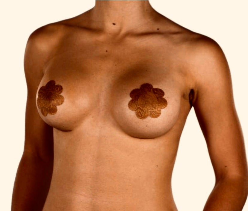 Image of Skin tone nipple pasties