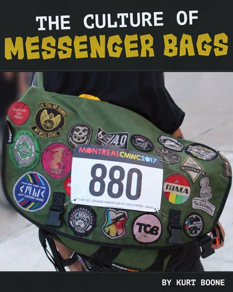Image of The Culture Of Messenger Bags by Kurt Boone
