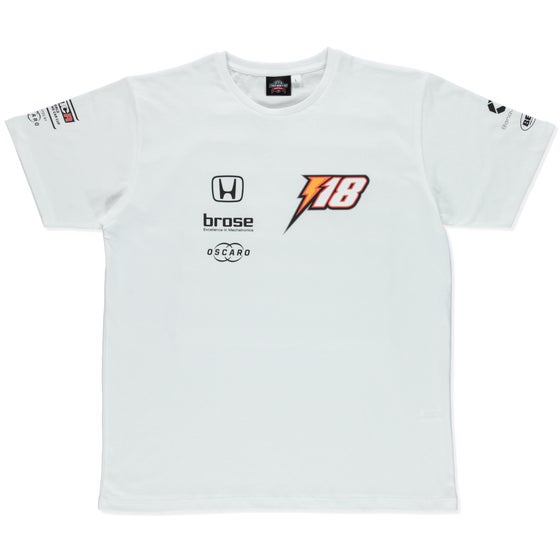 "Image of NEW 2019 WTCR MEN ""RACING"" T-SHIRT WHITE"