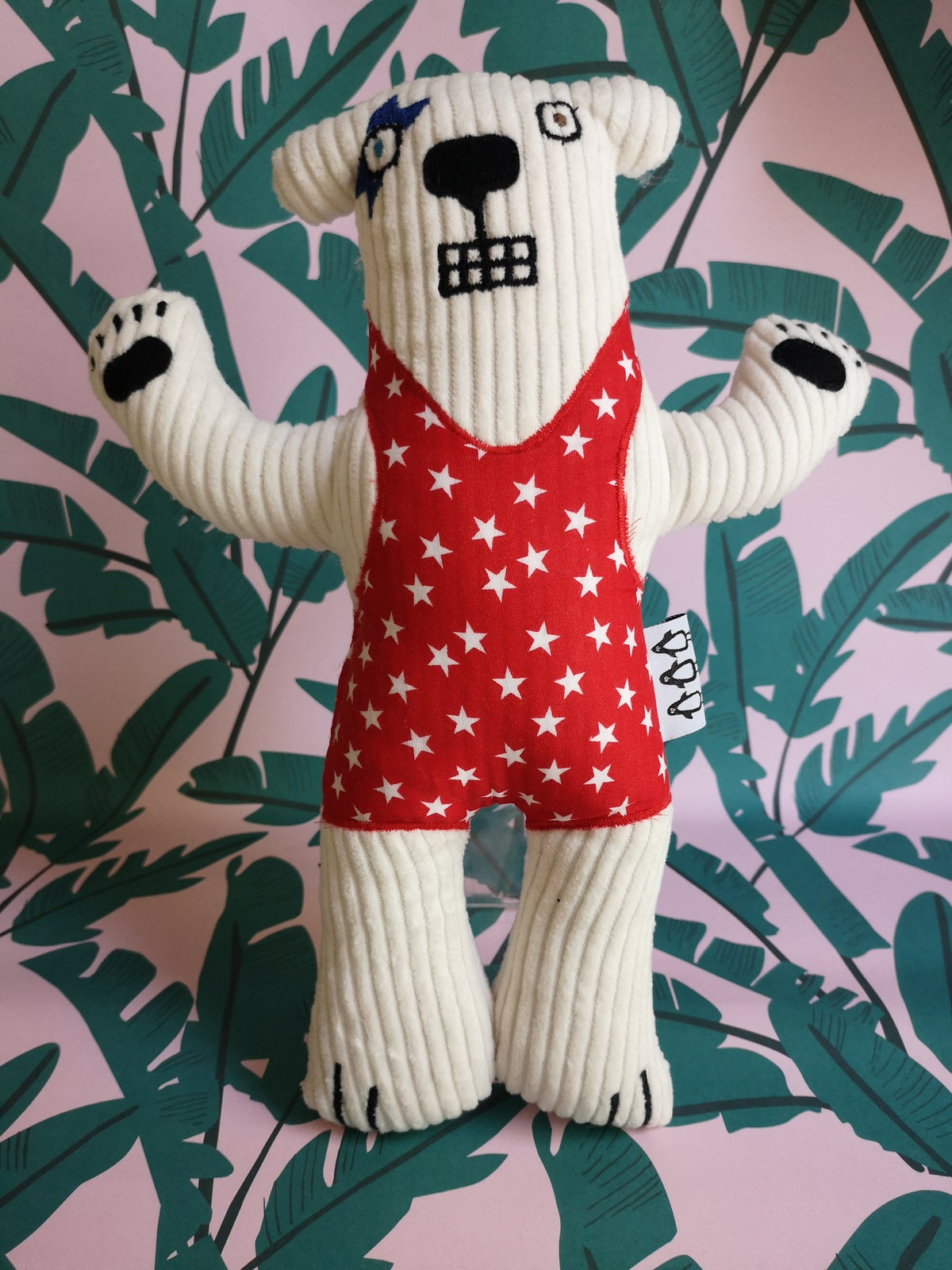 Image of Haystacks the Bowie Bear Soft Toy