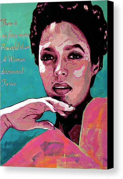 "Image of ""To Rise-Dorothy Dandridge"" Original Painting"