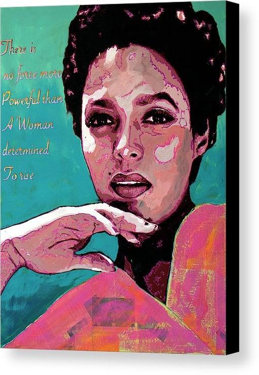 "Image of ""To Rise-Dorothy Dandridge"" Original Painting"