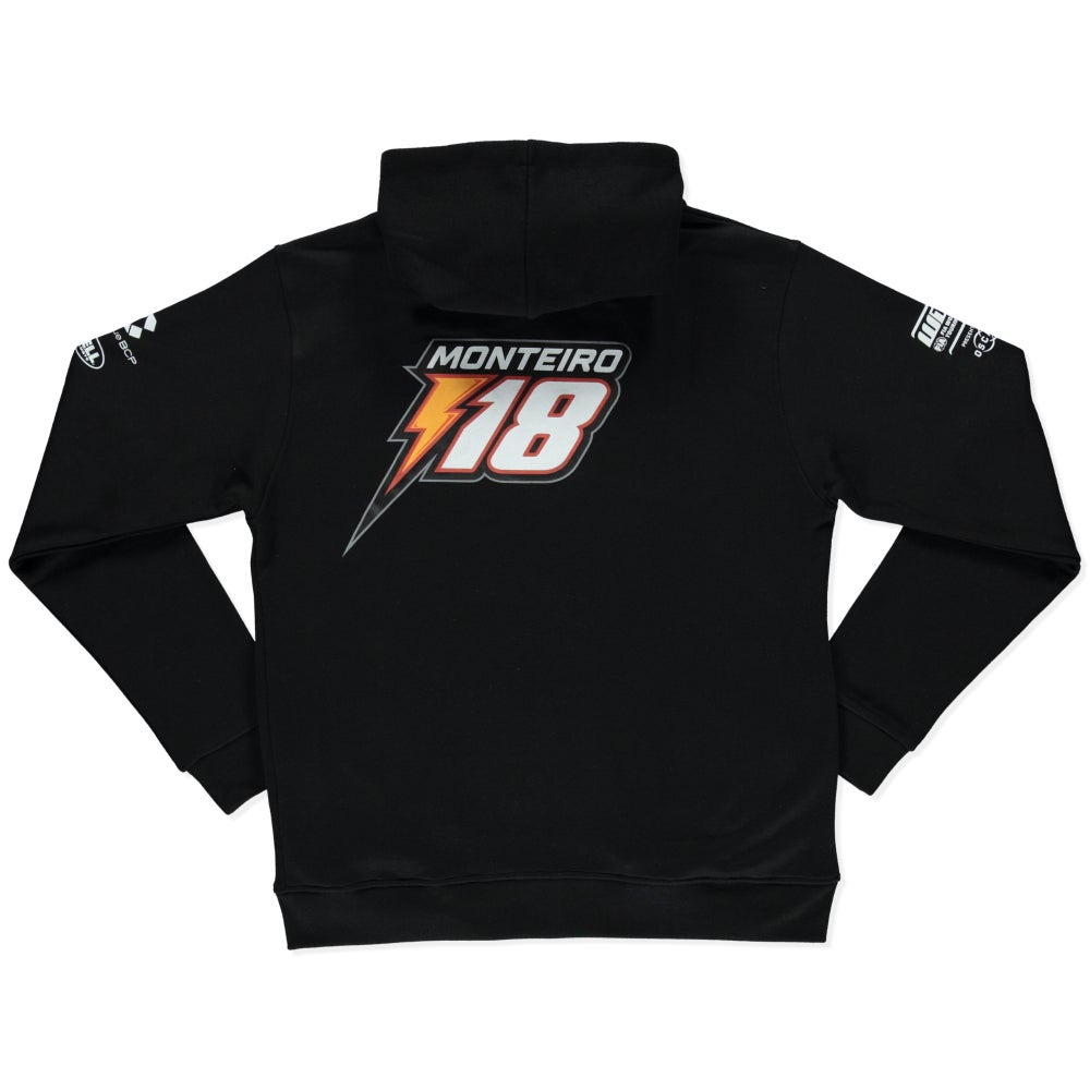 "Image of NEW 2019 WTCR MEN´S ""RACING"" HOODIE BLACK"