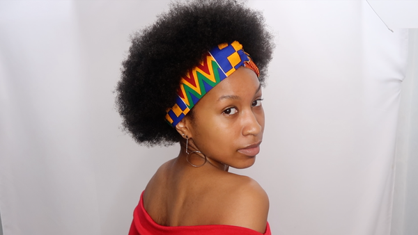 Image of Royal Blue Kente Collection Headband