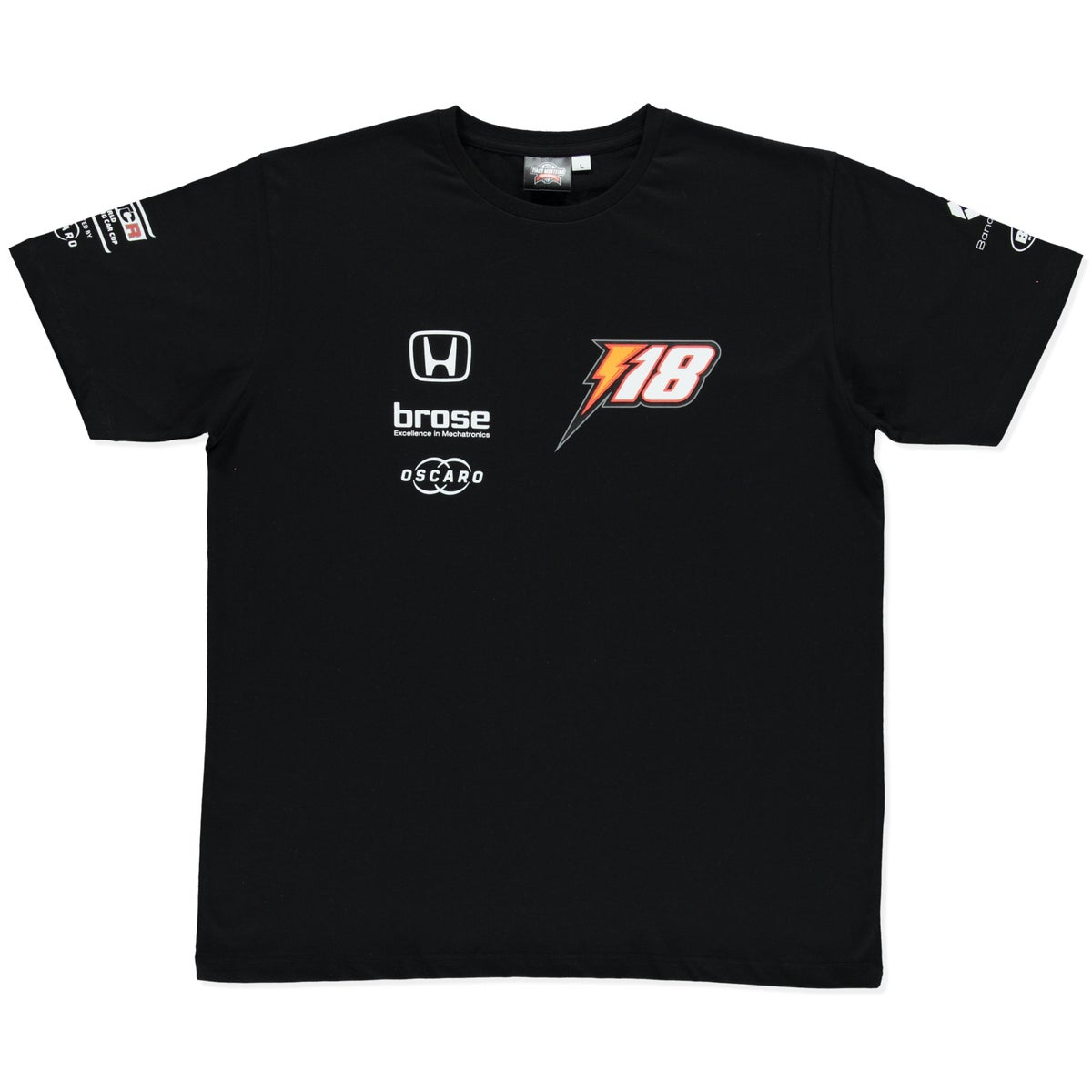 "Image of NEW 2019 WTCR MEN ""RACING"" T-SHIRT BLACK"