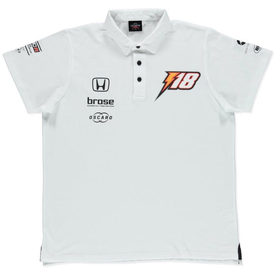 "Image of NEW 2019 WTCR MEN ""RACING"" POLO WHITE"