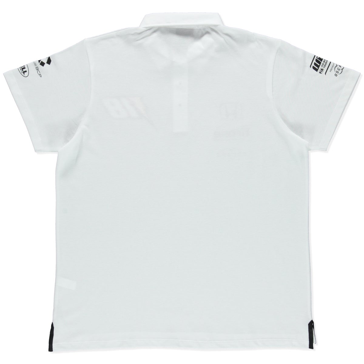 """Image of NEW 2019 WTCR MEN """"RACING"""" POLO WHITE"""