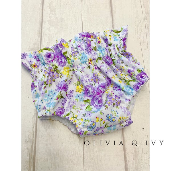 Image of Floral Print High Waisted Bloomers ( 20 Fabric choices )