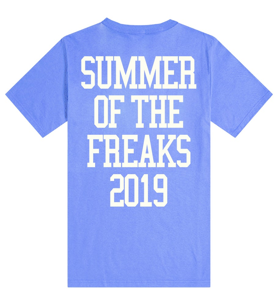 Image of FREAK TEE /BLUE