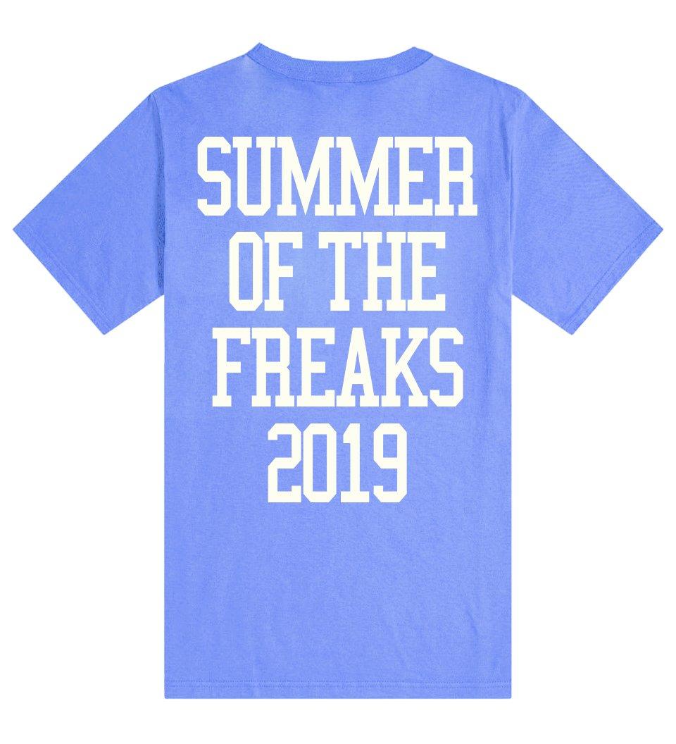 Image of FREAK TEE /BLUE
