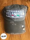 Melanated Dad Hat- Distressed Gray