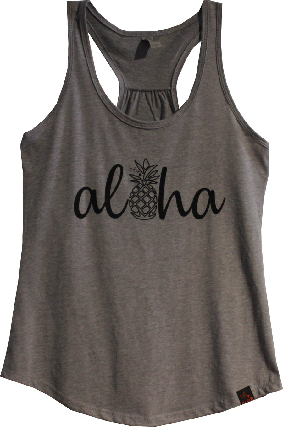 Image of Aloha Pineaaple - Grey Tank