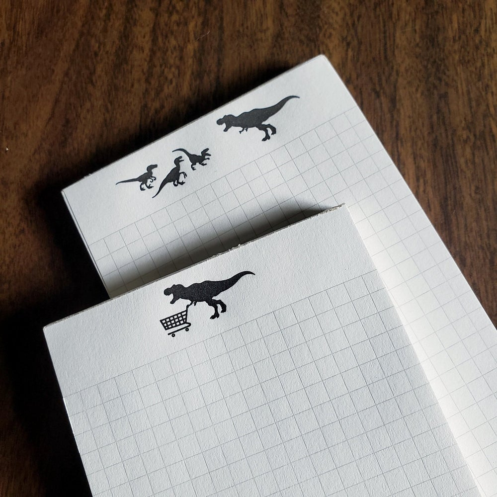 Image of Dinosaur Notepads