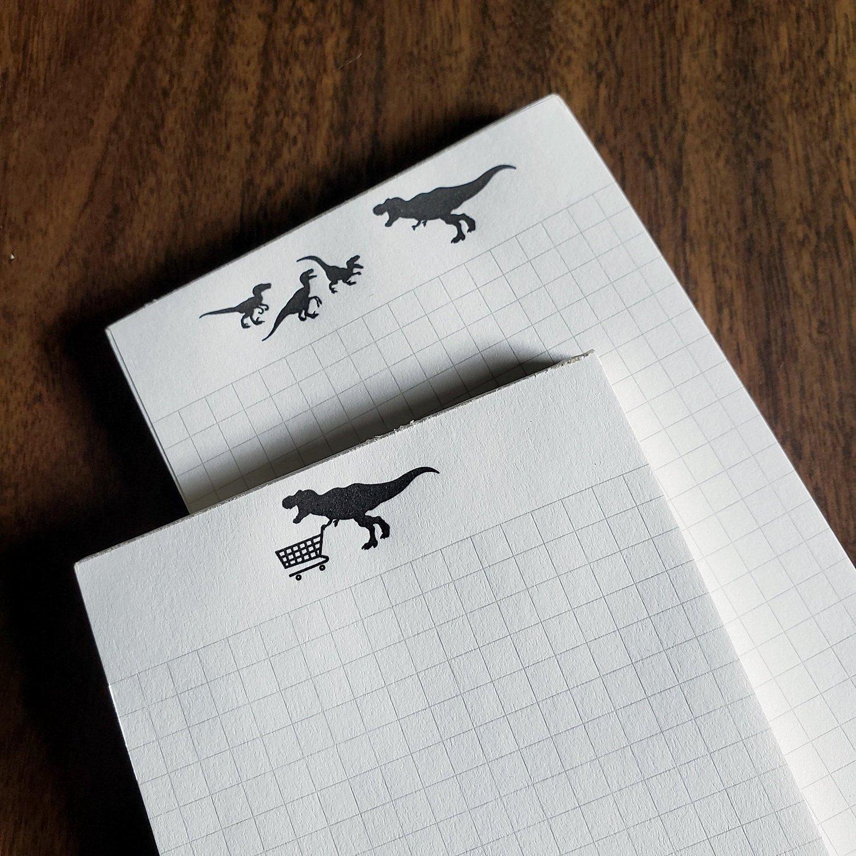 Dinosaur Notepads