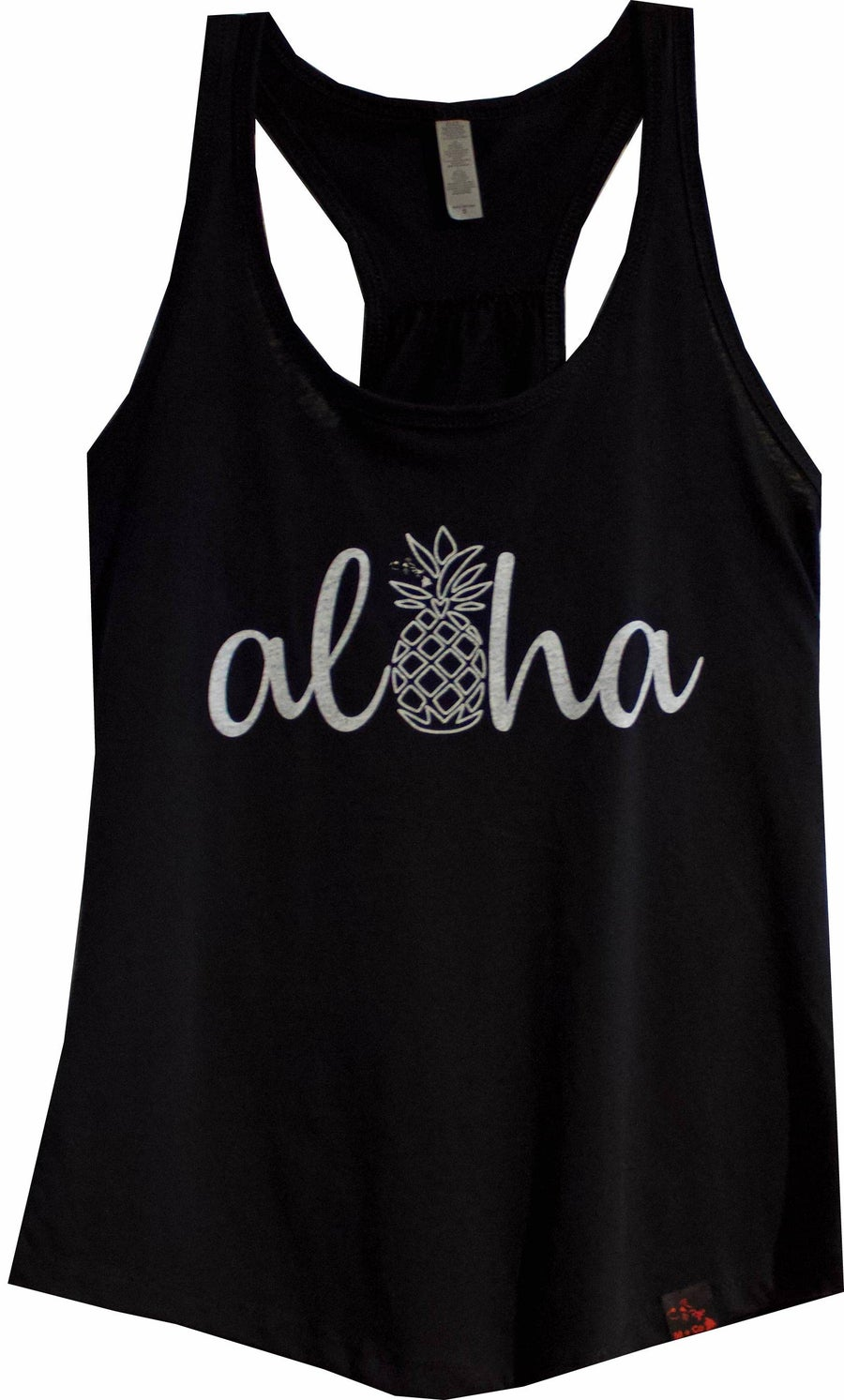 Image of Aloha Pineapple - Black Tank