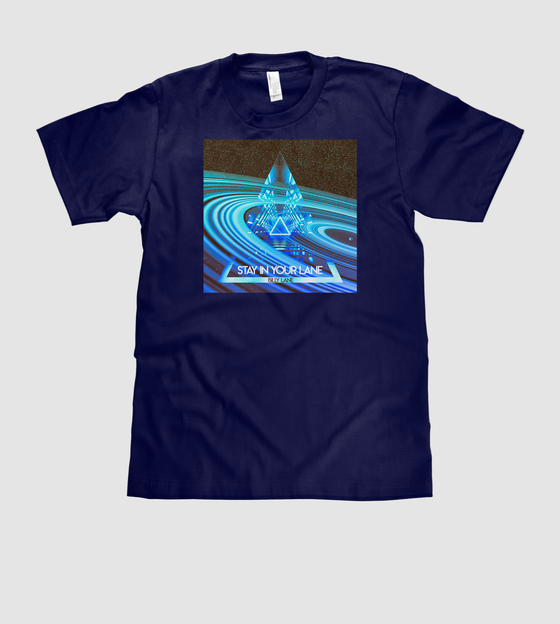 Image of Stay In Your Lane EP T-shirt By Billy Lane