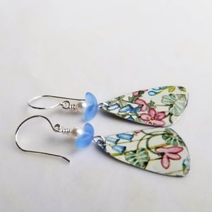 Image of Pottery Shard Earrings - 4