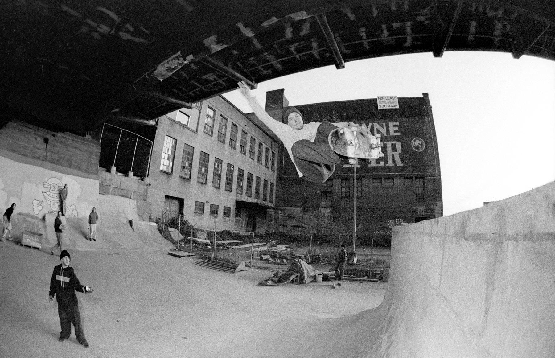 Image of Julien Stranger Burnside 1991, by Tobin Yelland