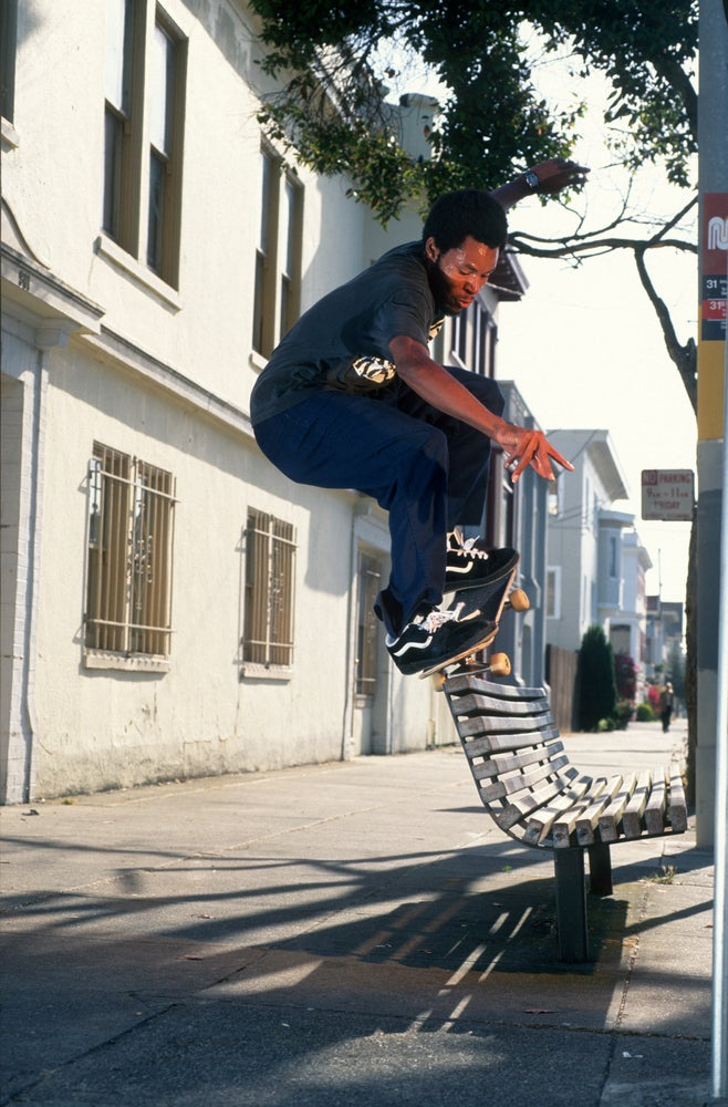 Ray Barbee, San Francisco 1997, Transworld pro spotlight by Tobin Yelland