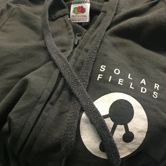 Image of Solar Fields 'Logo zip hoodie'