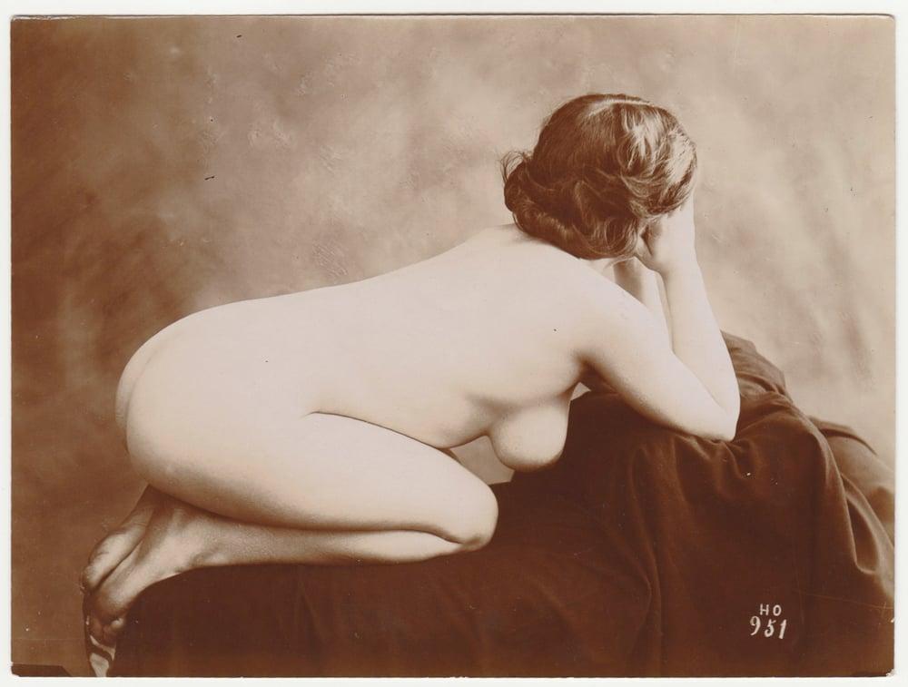 Image of Henri Oltramare: female nude, artist study, ca. 1890