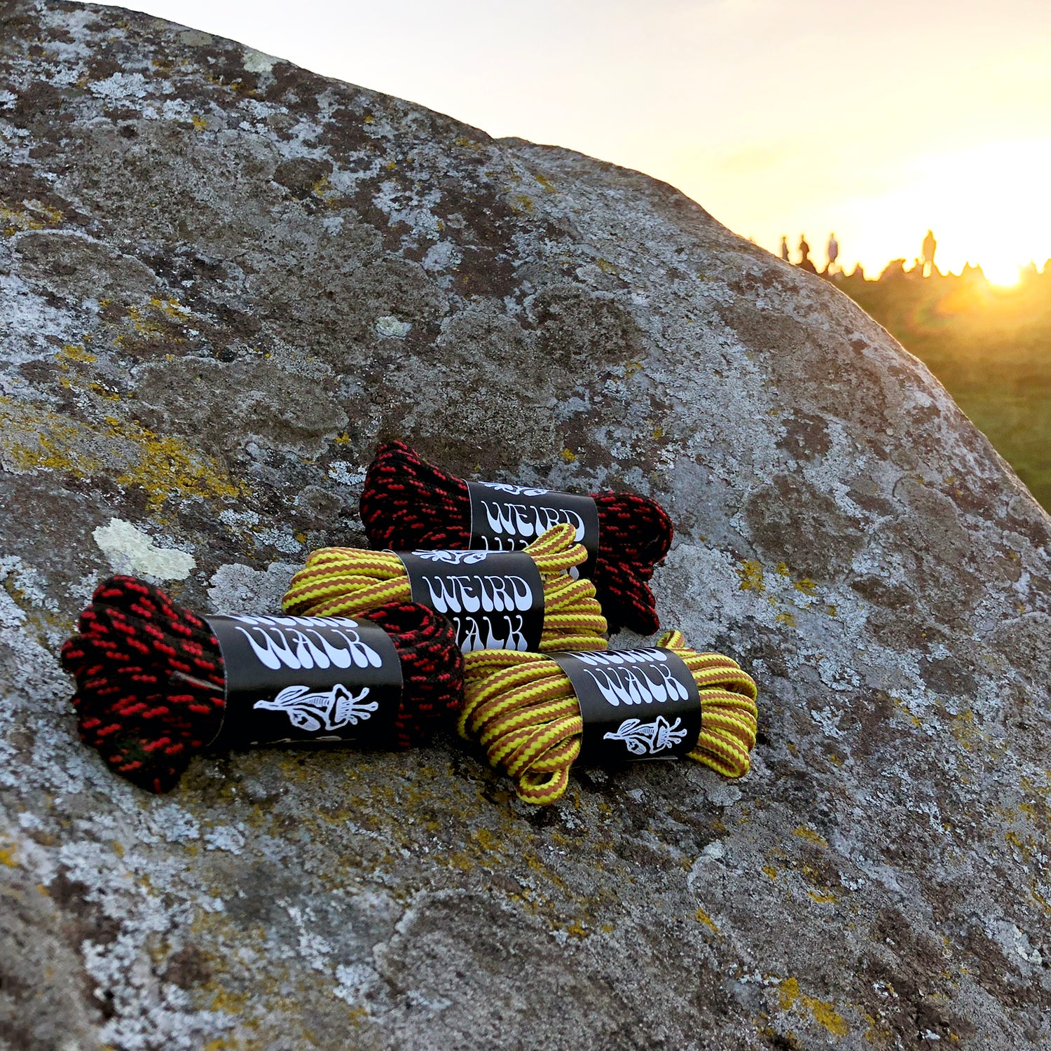 Image of Charmed Boot Laces - Summer Solstice Edition