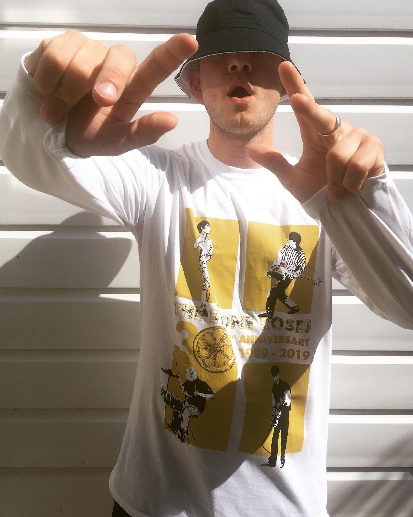 Image of UNISEX LONG SLEEVE - LTD EDITION  / THE STONE ROSES 30TH ANNIVERSARY
