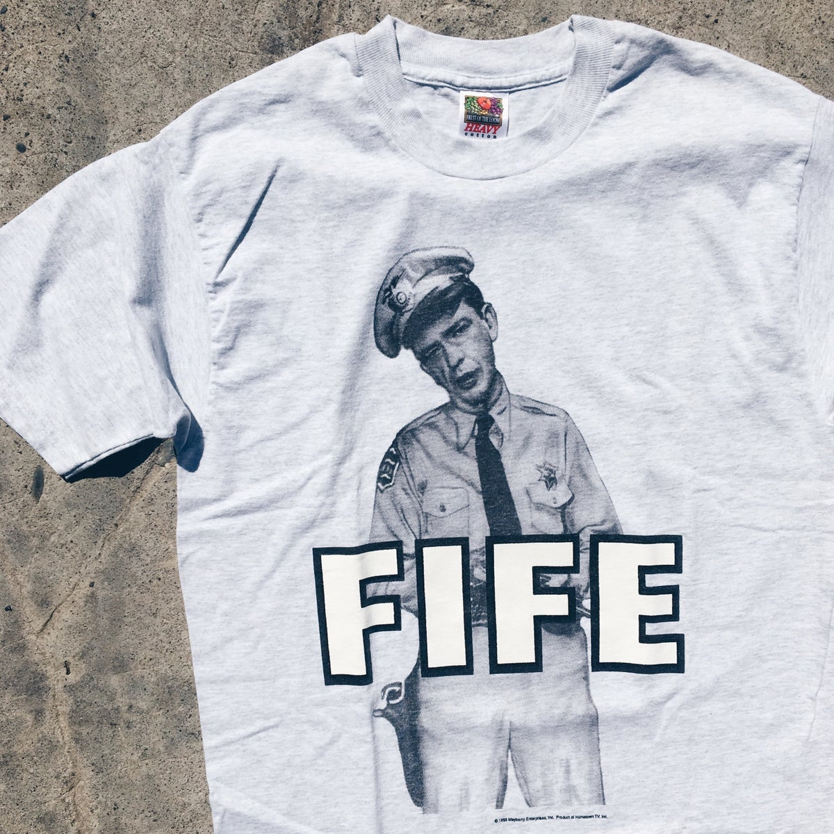 Image of Original 1995 Security By Fife Andy Griffith Tee.