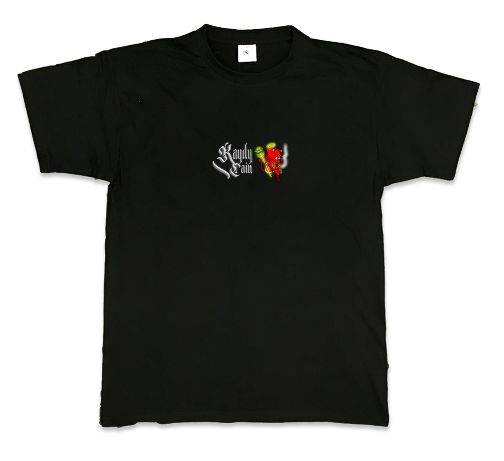 Image of INFIERNO.TV BLACK TEE