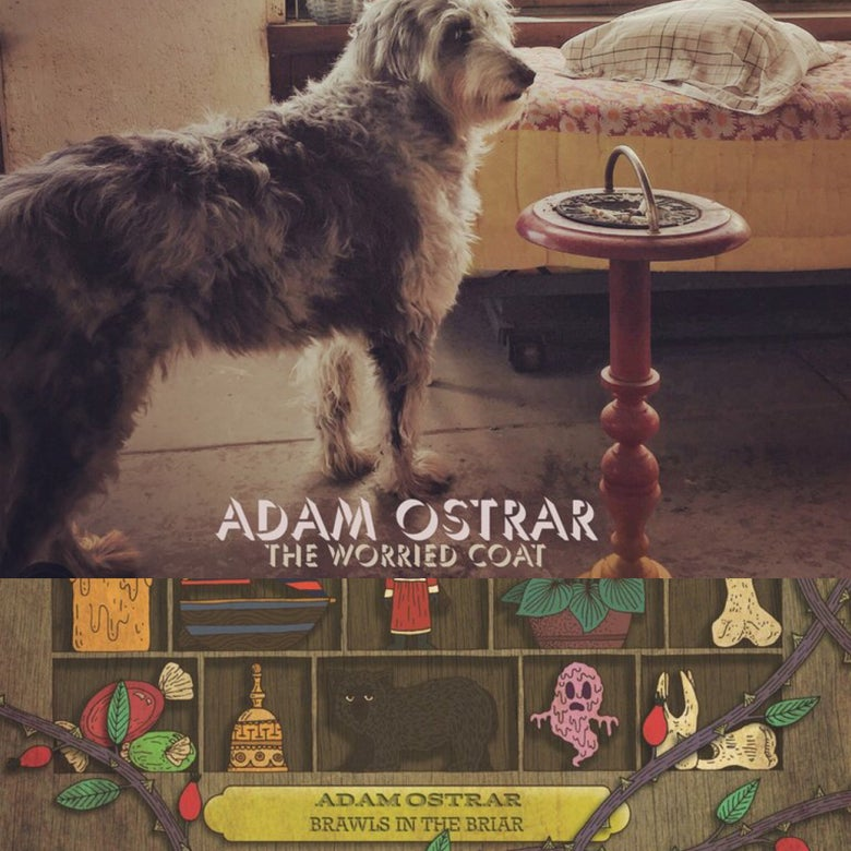 Image of Adam Ostrar Two Album Vinyl Bundle
