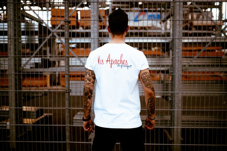 Image of Les Apaches Logo Tee