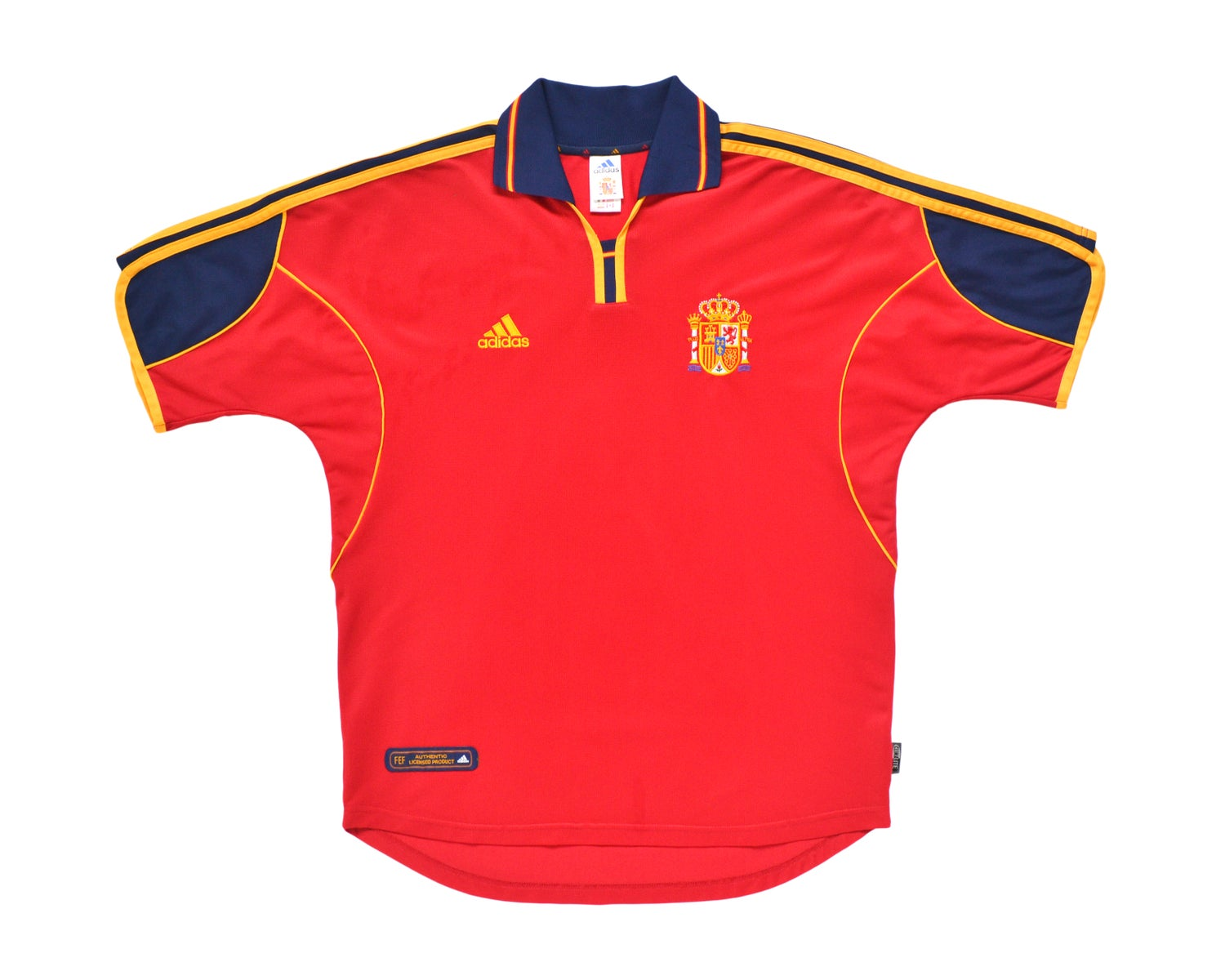 Image of 1999-02 Adidas Spain Home Shirt L